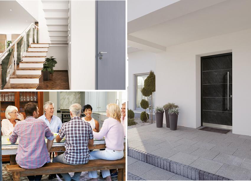 aluminiumhaust ren bayerwald fenster haust ren. Black Bedroom Furniture Sets. Home Design Ideas