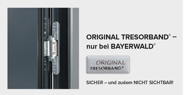 ORIGINAL TRESORBAND® – nur bei BAYERWALD®