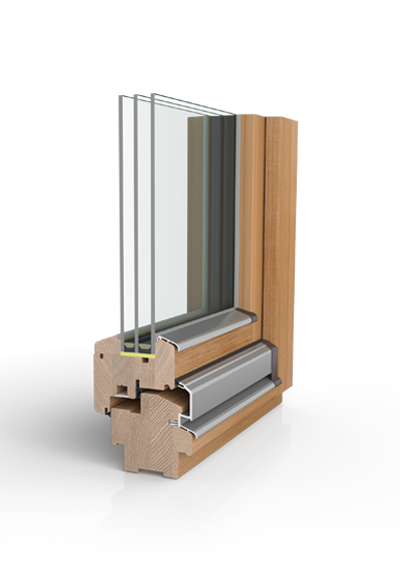 Holzfenster H90 SAFE