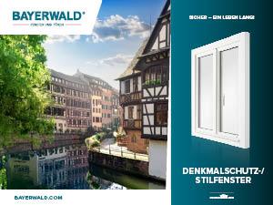 Prospekt Denkmalschutz-/ Stilfenster