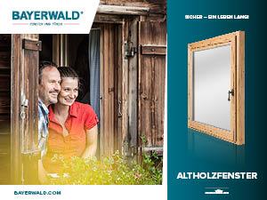 Prospekt Altholzfenster