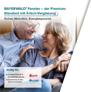 BAYERWALD® 3-fach Wärmeschutzglas inklusive