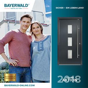 BAYERWALD® Highlights – Haustür-Aktion 2018: 5 Mal neu zum Einheitspreis