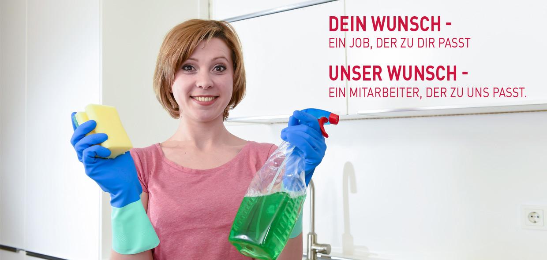 Reinigungskraft (m/w/d) in Vollzeit